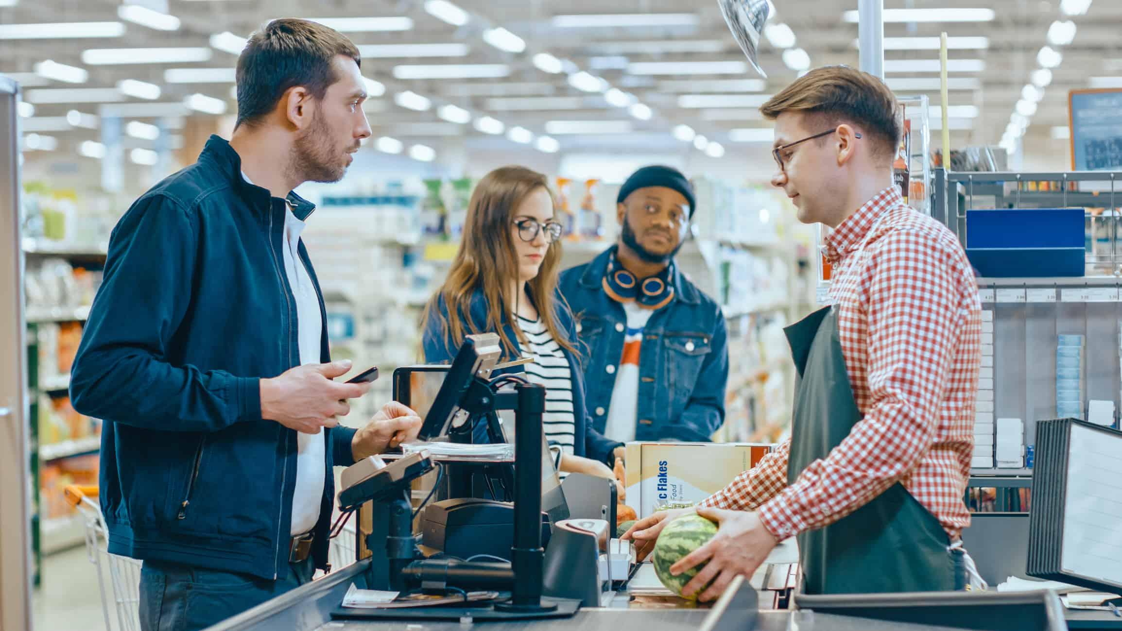 caixa de supermercado - sistema de conciliação